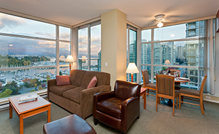 Premium Two Bedroom Suites at Lord Stanley Suites