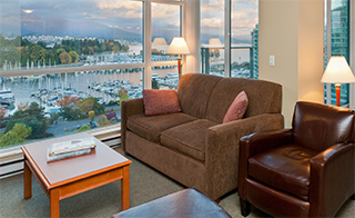 Two Bedroom Suites At Lord Stanley On The Park Vancouver Bc