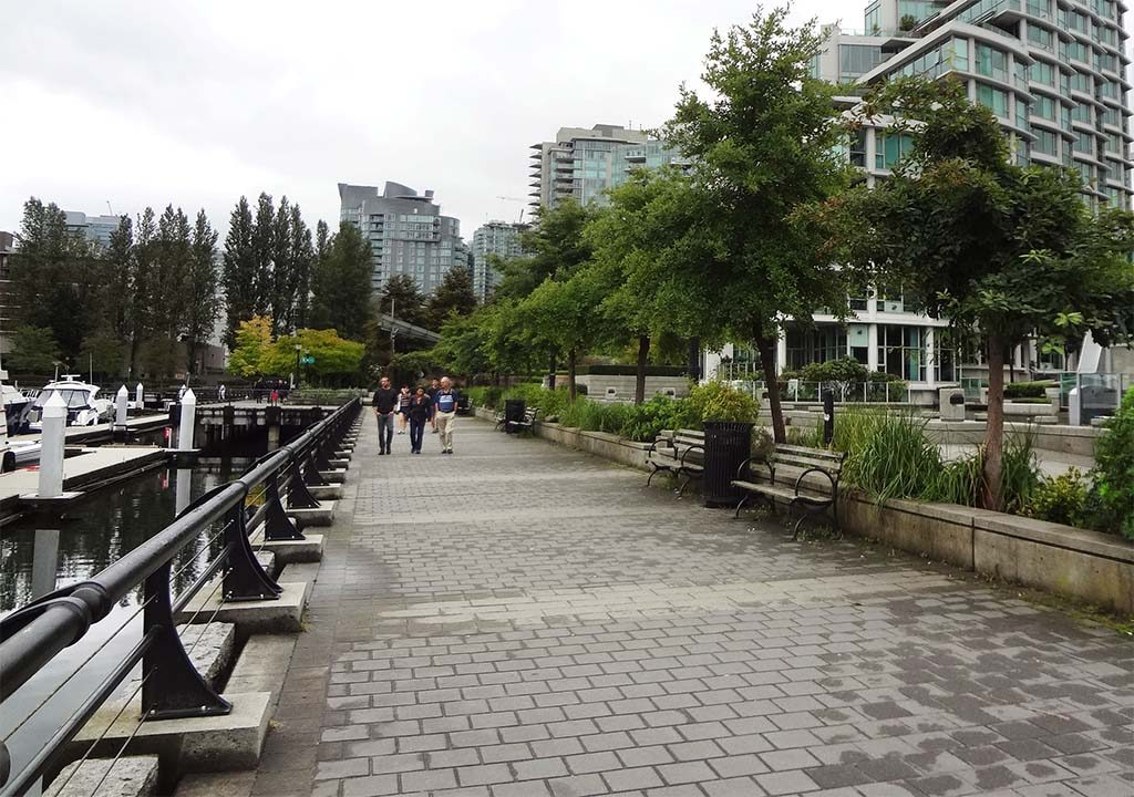 Coal Harbour Pedestrian Walkway