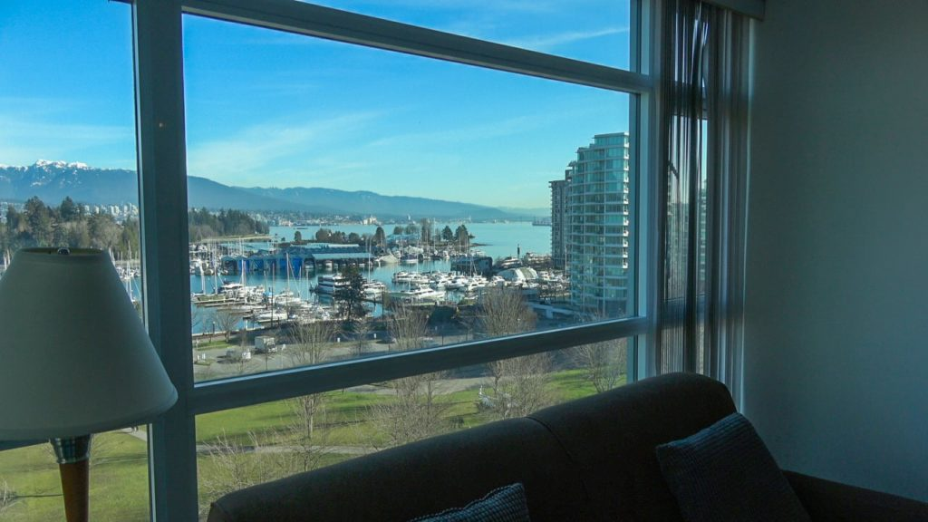 Premium Suites With Coal Harbour Views