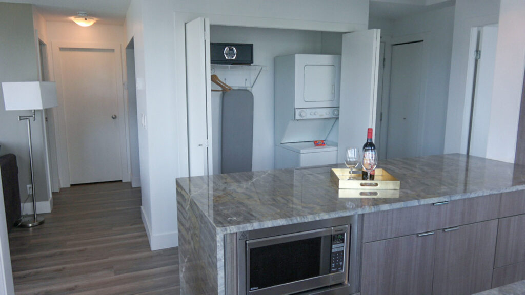 Presidential Suites Kitchen And Laundry Room